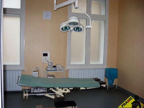 Operation room of the private clinic